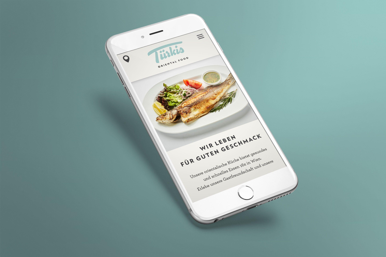Website Mobile Grafikdesign Türkis Branding Hofegger