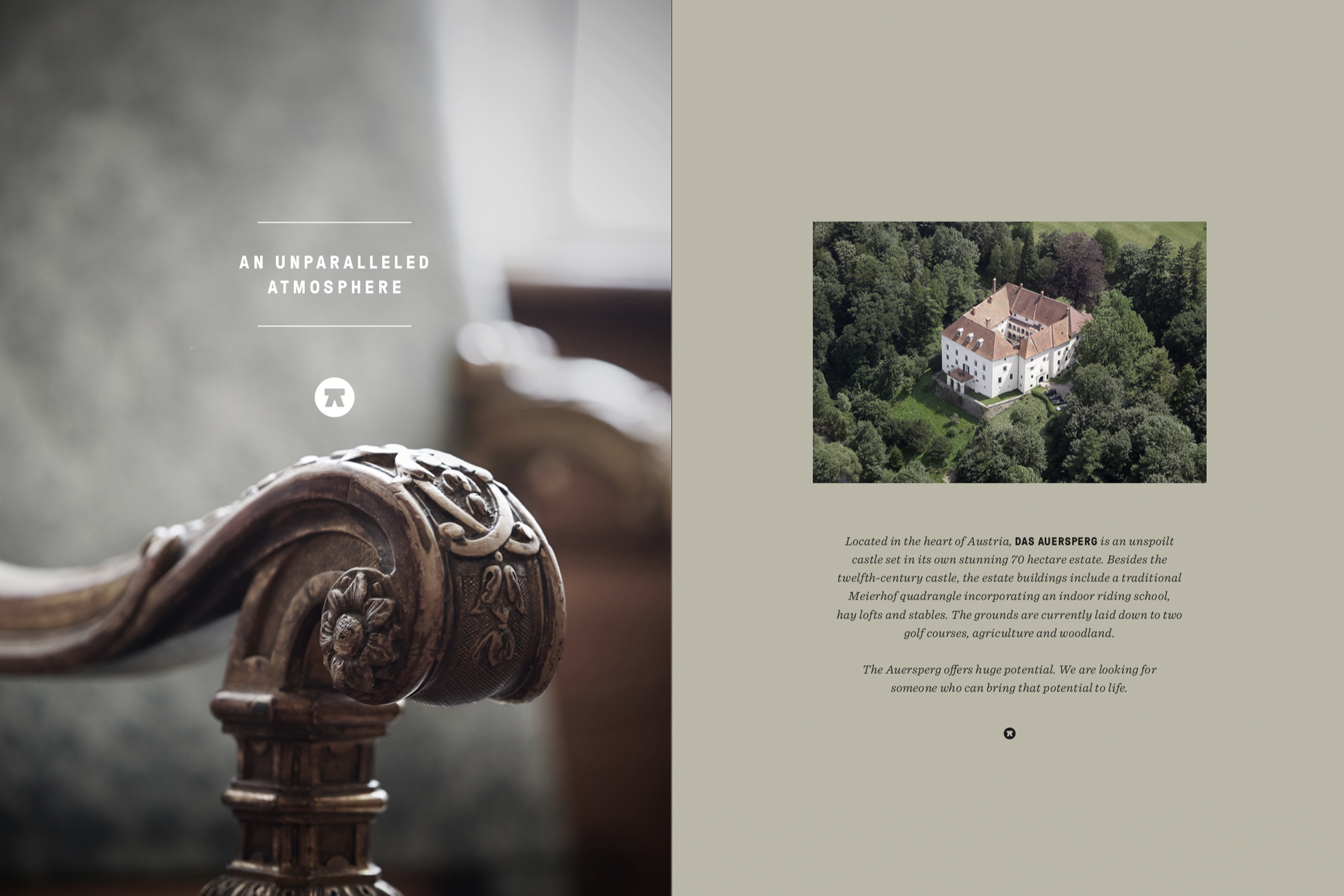 Corporate Design Editorial Design Auersperg Hofegger Branding
