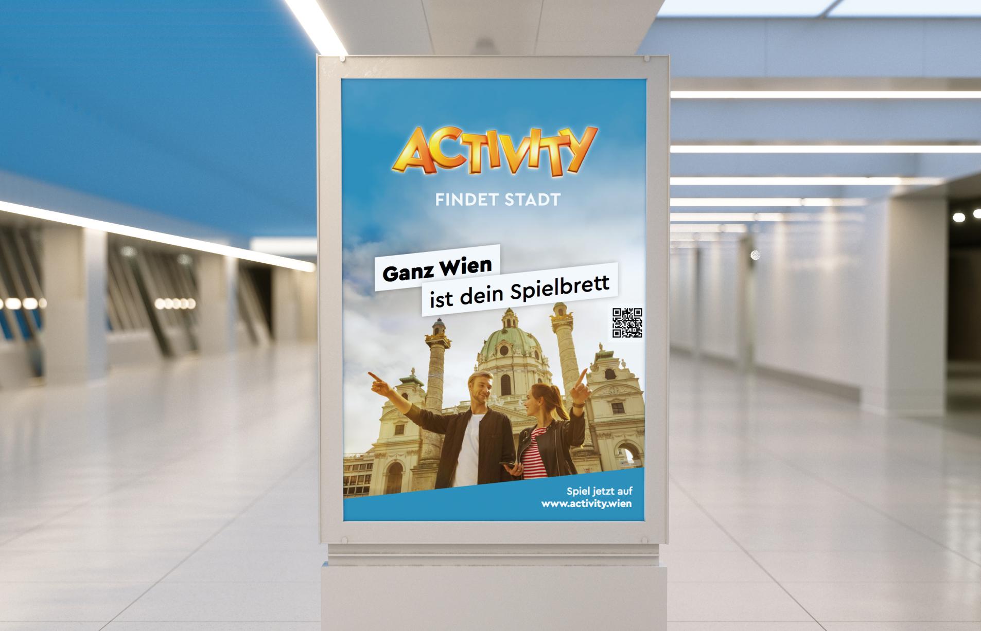 Activity Findet Stadt Plakat