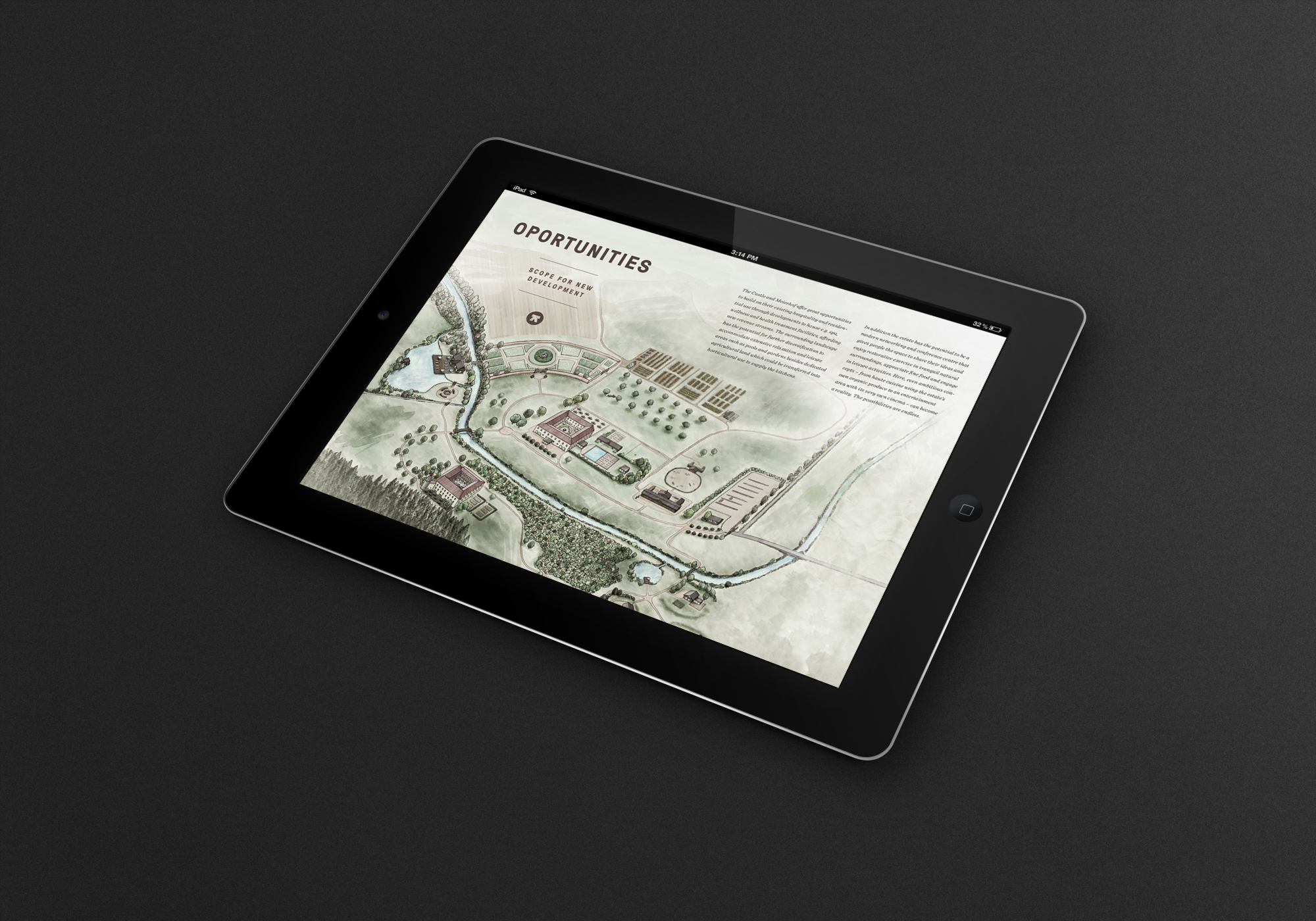 iPad Website Design Corporate Design Branding Auersperg Hofegger