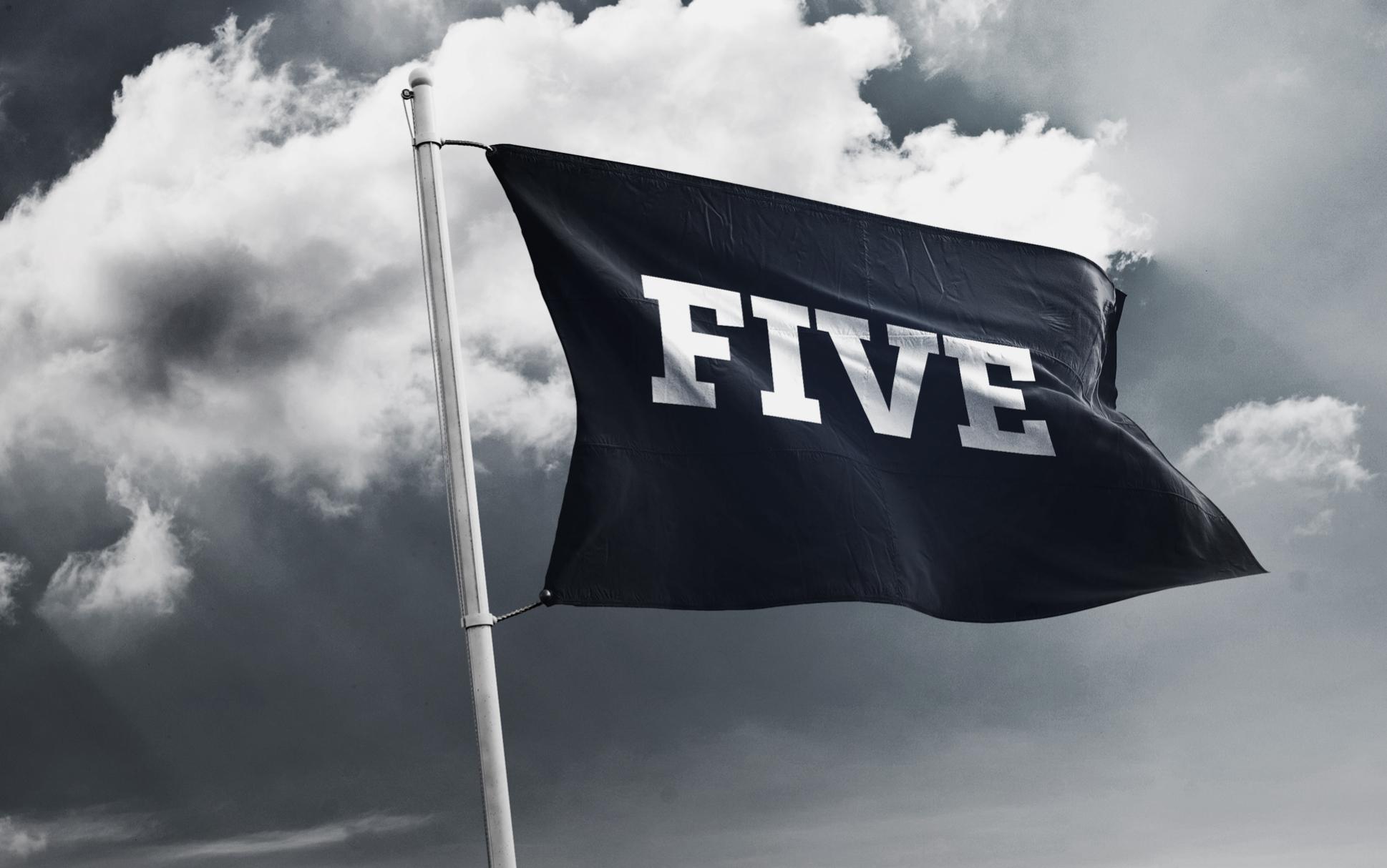 Five Fahne Logo Corporate Design Branding Agentur Hofegger
