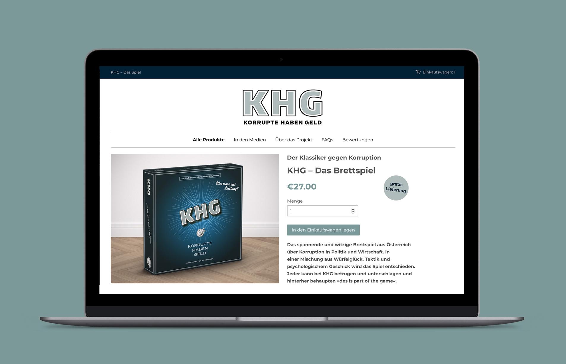 Khg Website