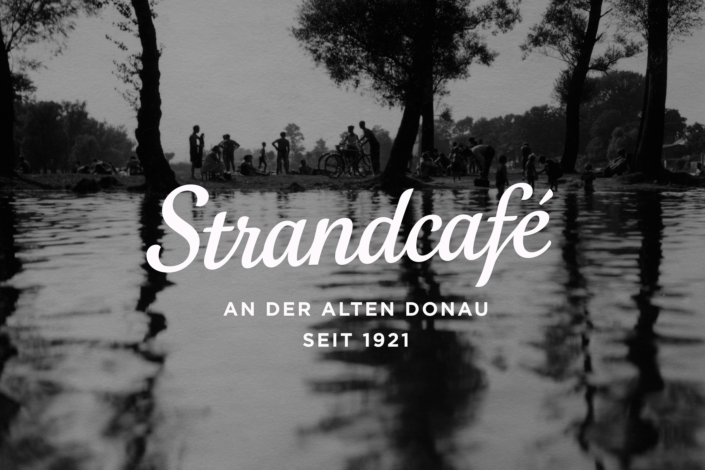 Strandcafe logo