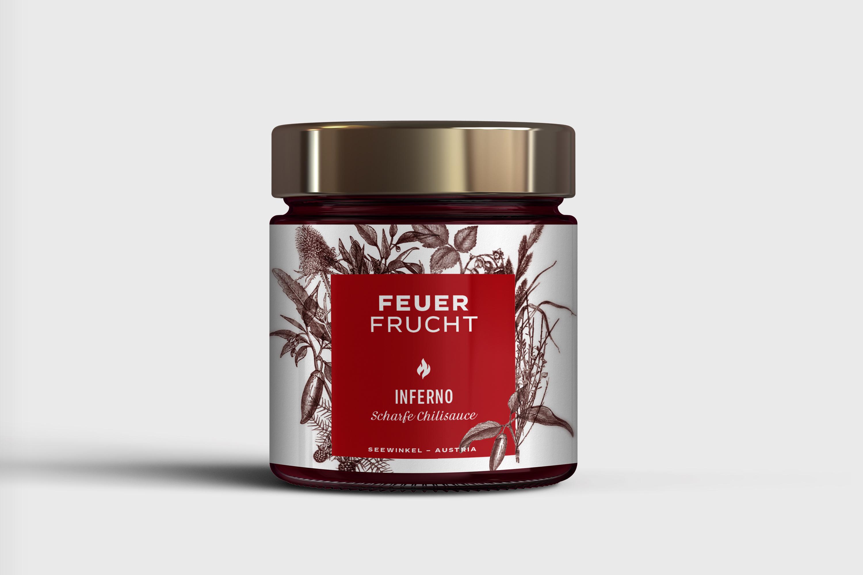 Branding Design Packaging Verpackung Feuerfrucht