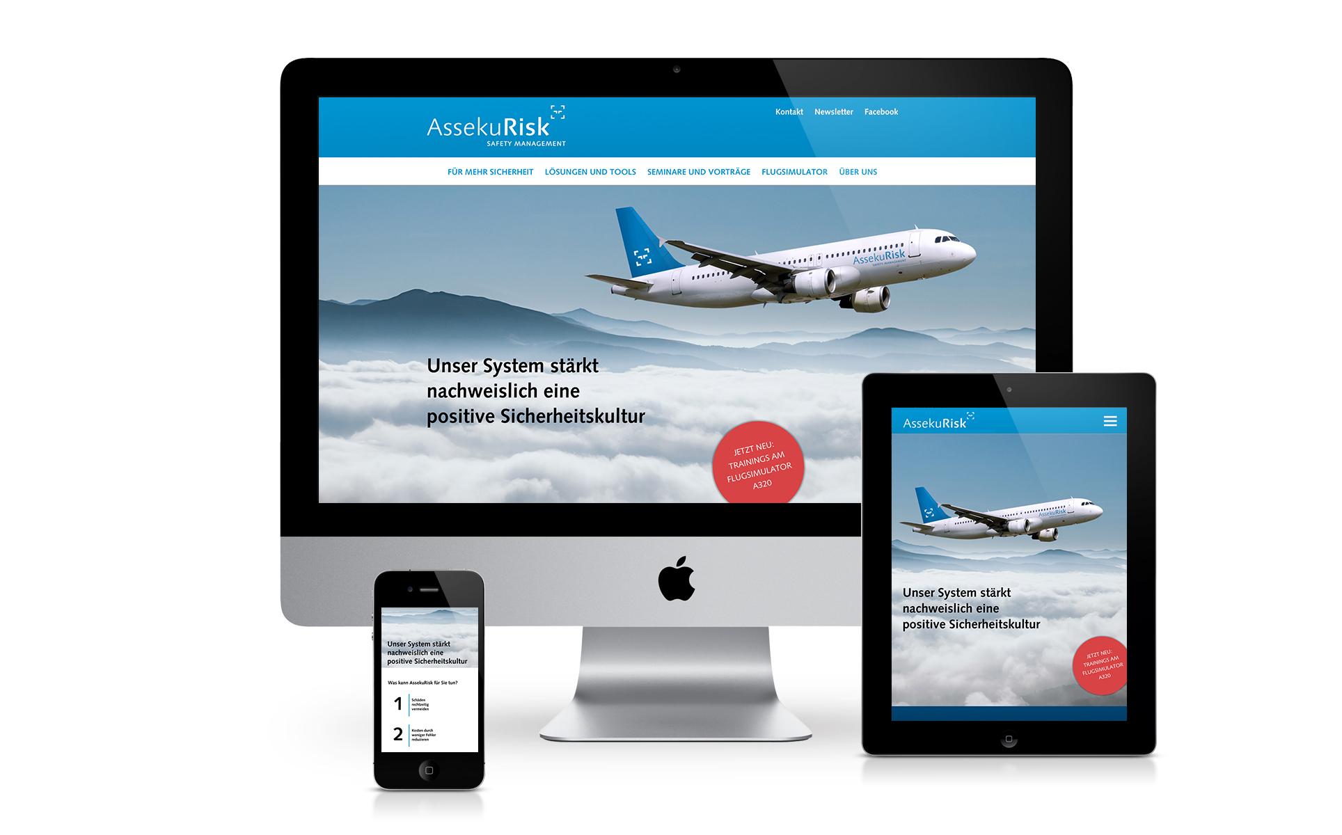 Branding Marke Website Assekurisk